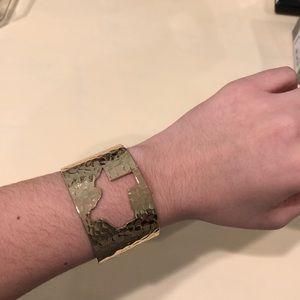 Jewelry - Gold Texas Cut Out Cuff Bracelet
